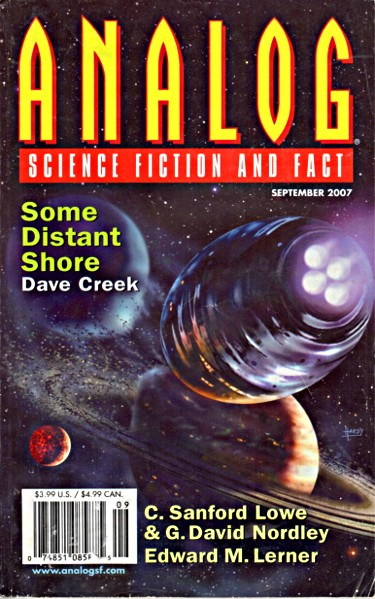 Analog Science Fiction and Fact magazine September 2007
